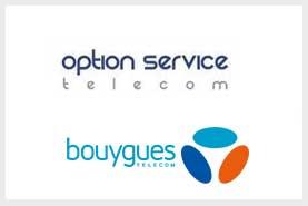 Accord  de coopération stratégique commerciale et marketing sur la région Hauts de France entre l'opérateur de télécommunication alternatif Option Service Telecom et Bouygues Telecom