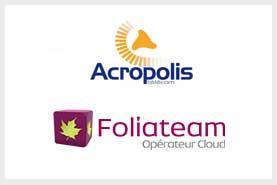 Cession de d'Acropolis Opérateur de Service Cloud et Télécom à Foliateam Opérateur-Intégrateur de services IP et solutions de communication digitales et unifiées pour les Entreprises