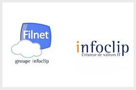 Cession de Filnet fournisseur d'accès internet àInfoclip société d'hébergement informatique
