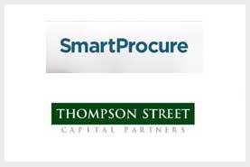 Cession de SmartProcure société de technologie nationale qui agrege les ordres d'achat des agences publiques et fournit des outils de recherche, de reporting et d'analyse Private Equity à Thomson Street Fond en support de notre associé US  JD Merit
